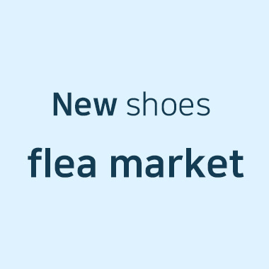 New shoes flea market